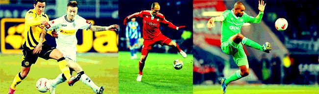 Trikot – Bayern, Dortmund, Schalke, HSV – die besten Bundesliga Trikots 2013   Fashion Mode Fußball Bayern Dortmund Bundesliga Reus Robben Ribery Müller