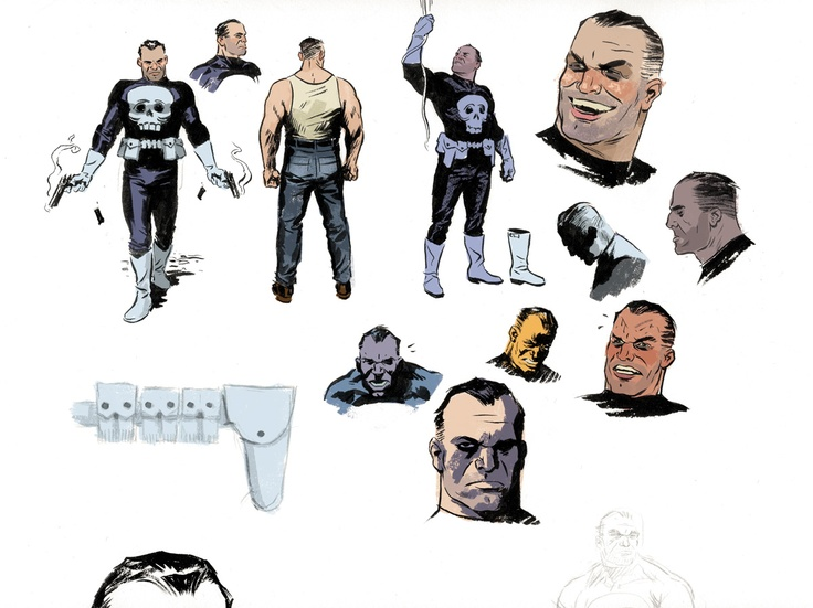The Self-Absorbing Man: Ol' Punisher Studies