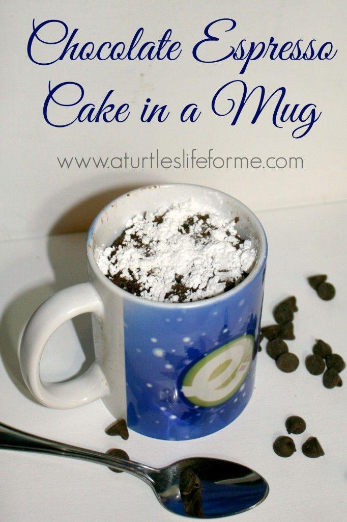 chocolate espresso cake mug microwave