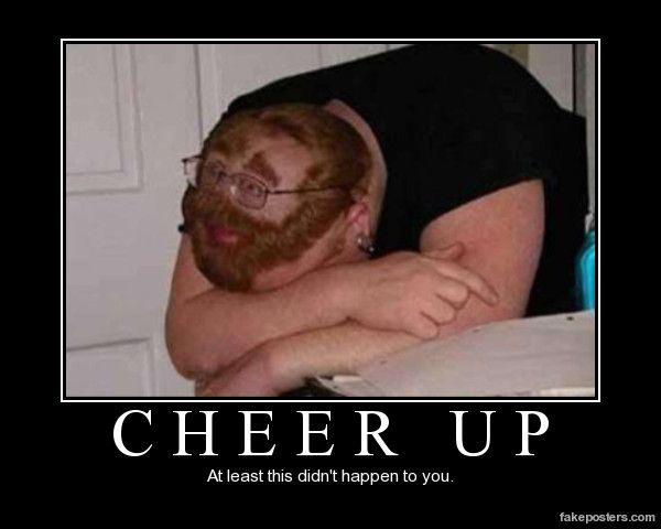 cheer up deutsch