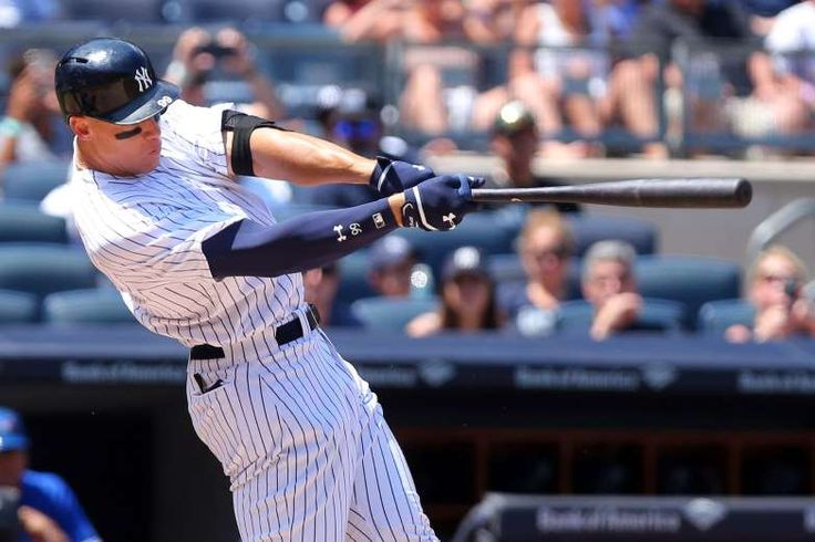 AL MVP: AARON JUDGE, YANKEES  -    Judge has taken MLB by storm this season, leading the league with a 5.2 WAR. He has a legitimate shot at the AL Triple Crown, ranking second in batting average, first in home runs and first in RBI. Judge also leads the AL in OPS by 165 points. -  MLB midseason awards  -  July 7, 2017