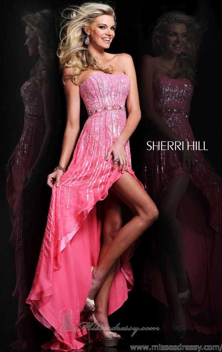 141 best Sherri Hill images on Pinterest | Vestidos bonitos, Alta ...