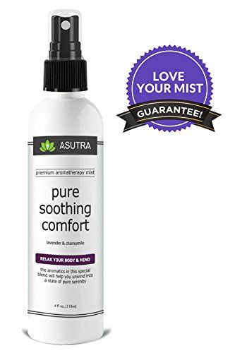"""Premium Aromatherapy Mist - """"PURE SOOTHING COMFORT"""" - Relax Your Body & Mind - 100% ALL NATURAL & ORGANIC Room & Body Mist, Essential Oil Blend - Lavender & Chamomile - 100% GUARANTEED - http://essential-organic.com/premium-aromatherapy-mist-pure-soothing-comfort-relax-your-body-mind-100-all-natural-organic-room-body-mist-essential-oil-blend-lavender-chamomile-100-guaranteed/"""