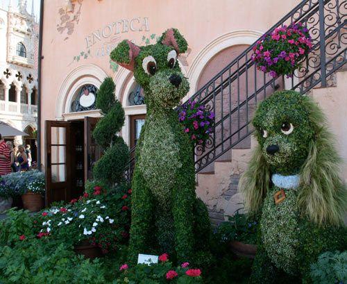 Epcot® International Flower U0026 Garden Festival At DisneyWorld. Almost Time  To Leave!