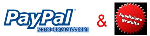 TheShopOnLine non smette di fare regali ai propri clienti! La notizia che farà veramente felici tutti i clienti è che finalmente non dovranno più pagare le noiosissime spese di commissione PayPal quando sceglieranno la carta di credito o il proprio conto PayPal per pagare!