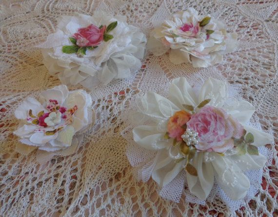 Shabby Chic Flowers Teacup and Roses by TeacupAndRoses on Etsy