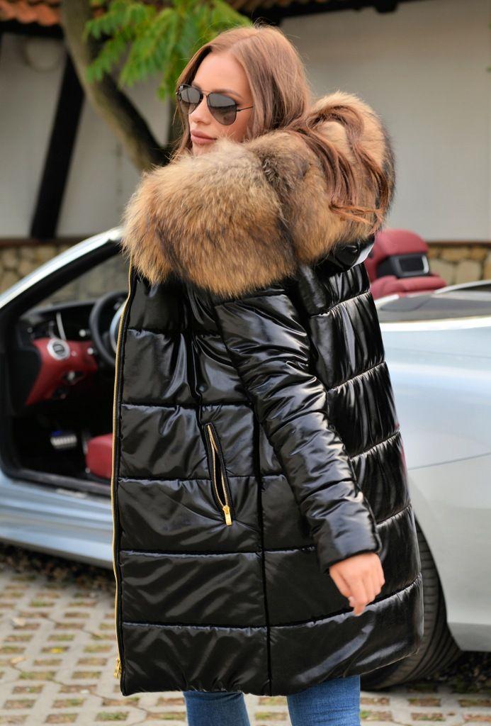 Pin von furs auf PUCHOWE PŁASZCZE Z FUTREM COATS