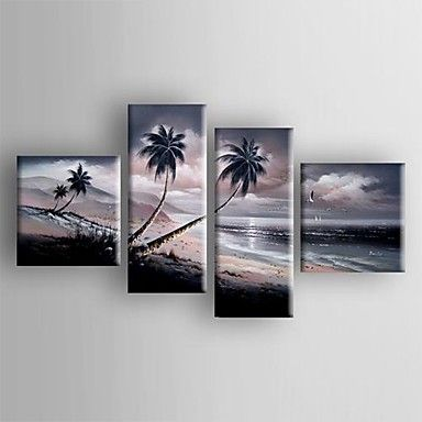 Landscape Oil Painting to decorate your blank wall. Relaxing to watch the painting once in a while.