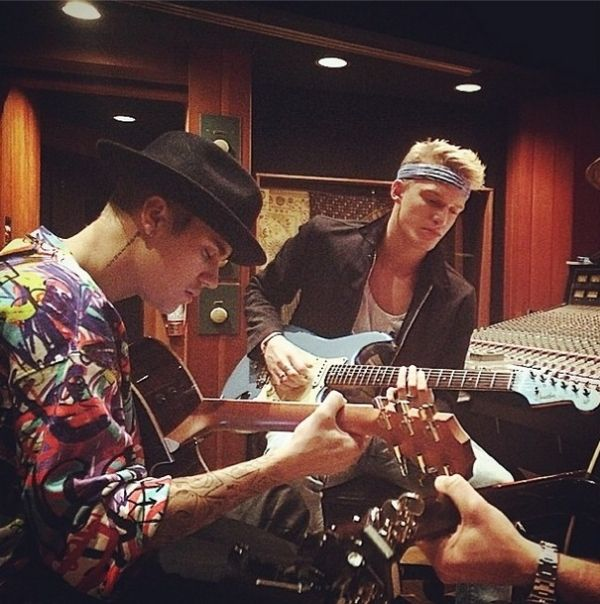 Justin Bieber and Cody Simphson Duet #musical is coming thats is all Set to Release in November. #Musical_Album #Recording #Studio