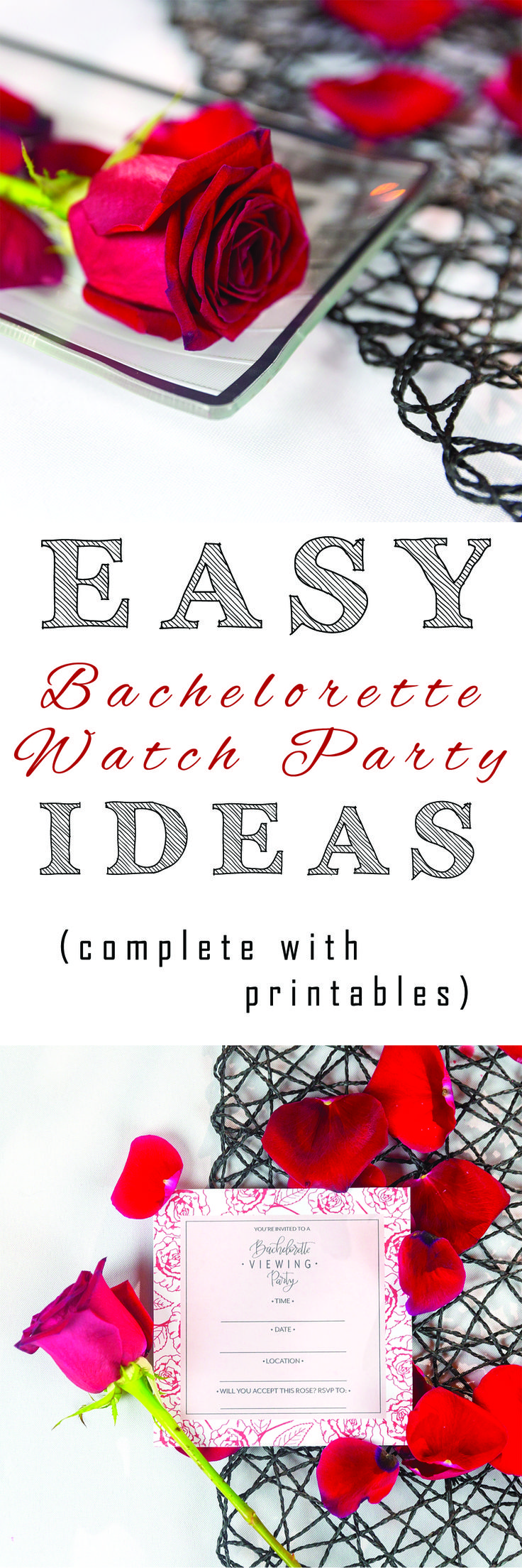 DIY, inspired, cheap, organize, build, project, tutorial, how to, quick, easy, fast, download, printables, checklist, ideas, recipe, decor, party planning, girls night, tips, Bachelorette viewing party, Bachelorette premiere, Monday night, Bachelor Night, Bachelor Nation