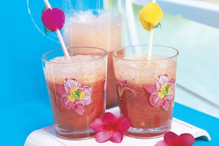 Make the most of sweet seasonal fruit with these strawberry and watermelon mocktails.