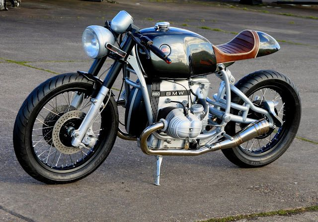 Cafe Racer | caferacerpasion: Beautiful BMW R80 Cafe Racer...