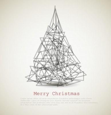Christmas Greeting Card.. The Modern...  Greeting Card Ideas  Pinterest  M...