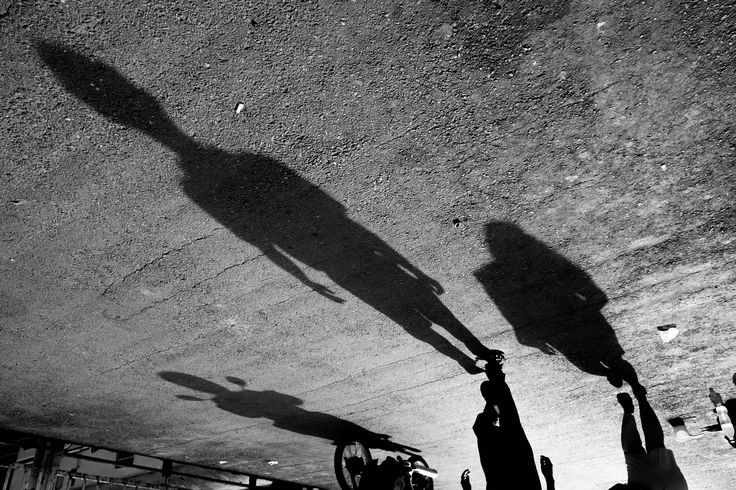 Head of Shadow - This is a moment when i'm in railway bridge in Medan…