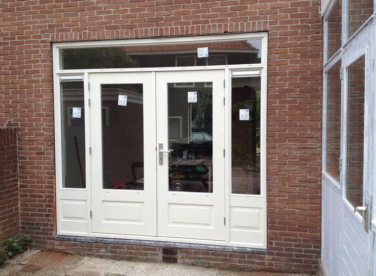 Broek in Waterland, Noord-Holland - Tuindeuren-OPMAAT.nl - Openslaande houten tuindeuren