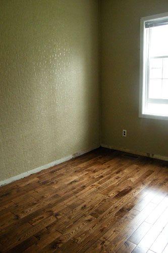 DIY hardwood floors | The Homestead Survival