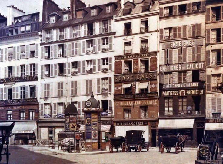 Rue d'Aboukir 1914