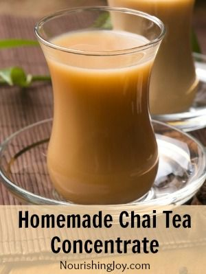 Homemade Chai Tea Concentrate - Nourishing Joy  @Melodye Jones I can't help it: think Danny would like this? :)