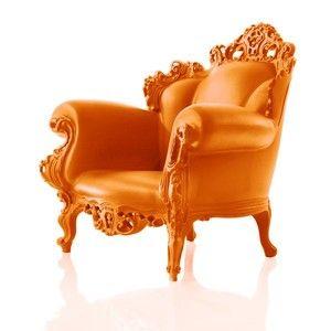 Fauteuil Proust de Magis designer Alessandro Mendini du baroque moderne et original