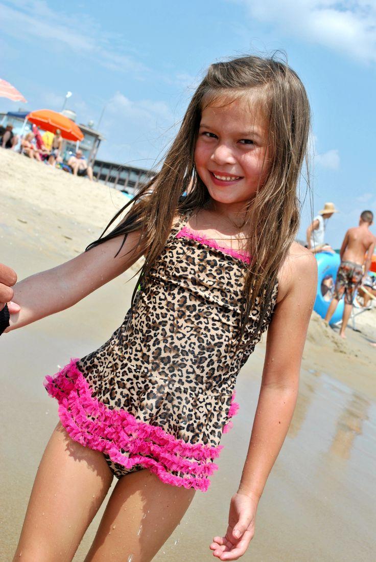 leopard bikini little girls swimsuits pinterest