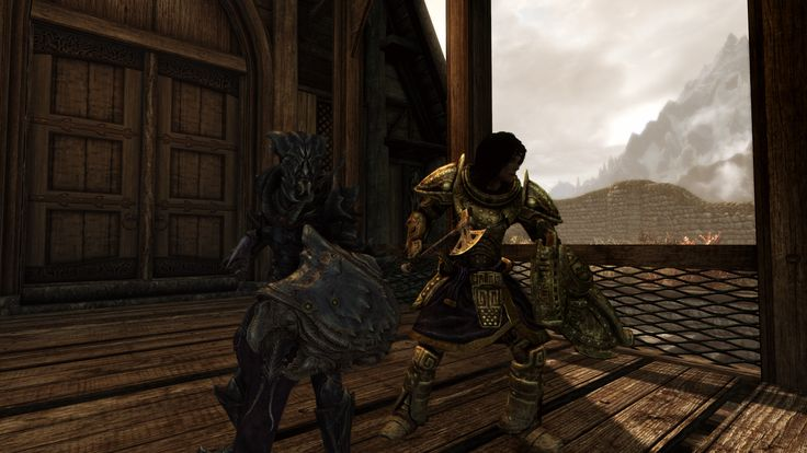 Lydia and I ready for adventuring and battle. #games #Skyrim #elderscrolls #BE3 #gaming #videogames #Concours #NGC