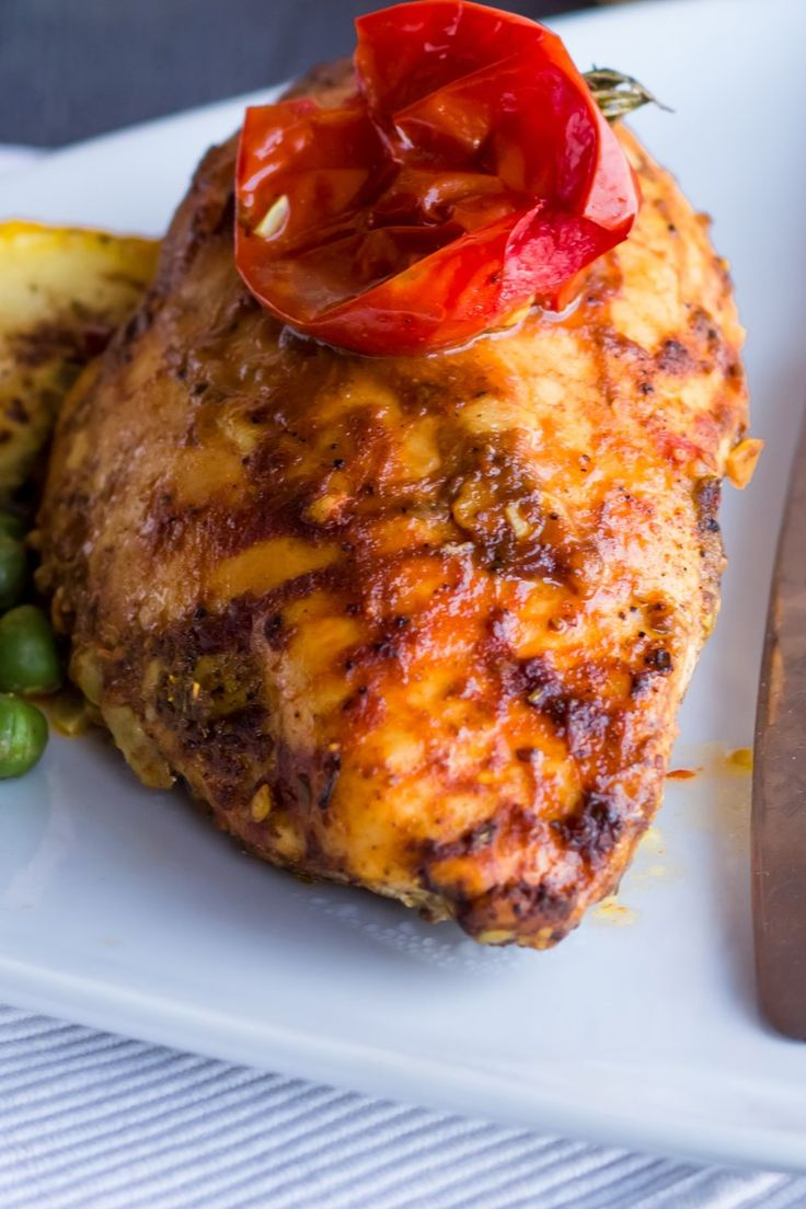 Skinny Baked Buffalo Chicken Breasts Recipe Boneless Skinless Chicken Breast In A Flavorful