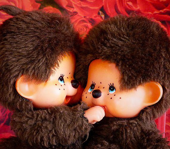 """""""Moncsi, moncsi, moncsicsi, mindig csak a moncsicsi, én meg csak azt kérdezem, hogy miért nincs nekem?..."""" énekelte Ullmann Mónika a 80-as évek elején /// At the beginning of the 80's every Hungarian little girl had their own mini monkeys in their schoolbags"""