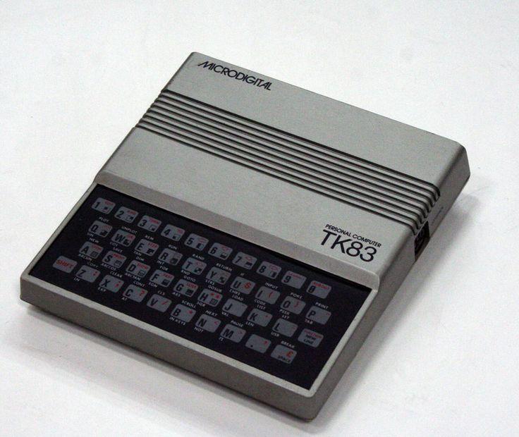 Microdigital - TK83 (ZX81 Clone) // 1983