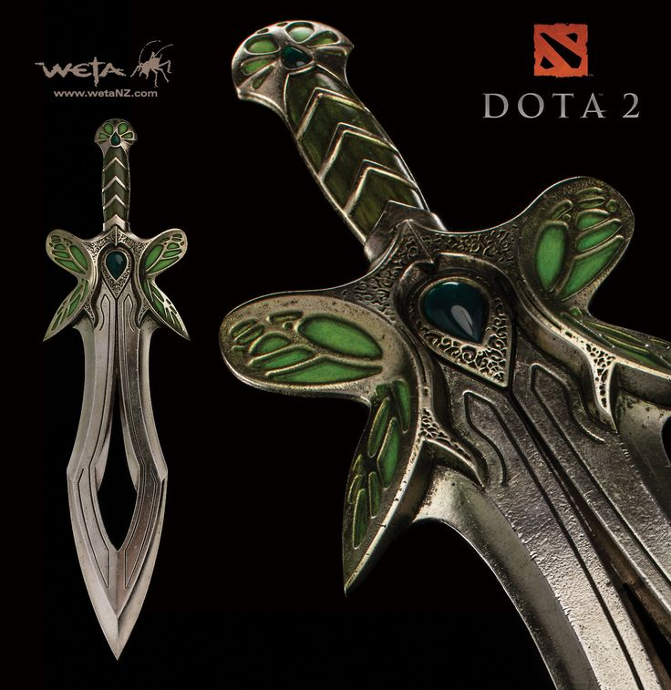 Swords in Gaming - DOTA 2 - The Butterfly Sword ...
