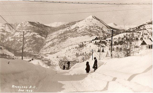 Rossland, British Columbia, Canada 1932