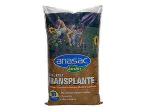 Tierra para transplante 18 litros. - ANASAC