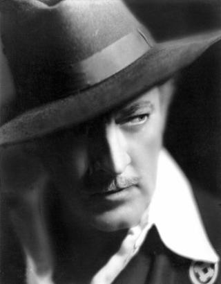 John Barrymore, character actor of the renown Barrymore family.