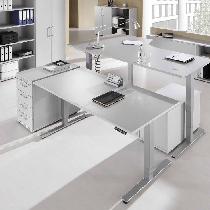 #SWDirekt: Elektromotorisch Höhenverstellbarer Arbeitstisch, Schreibtisch  Mit Einer Höhenverstellung Von 62 127 Cm