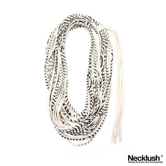Striped Scarf Striped Scarves Scarves with Stripes by Necklush