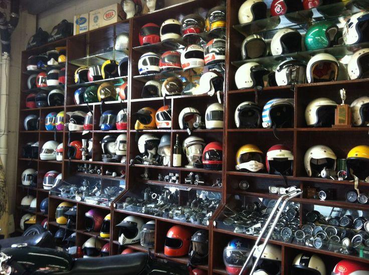 Vintage Helmets Collection | Garage Company, Inglewood, California