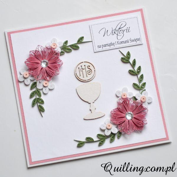 Na pamiątkę • Quilling.com.pl - kartki okolicznościowe & greeting cards