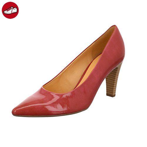 Gabor 41-280-90 Schuhe Damen Lack Pumps Weite F , Schuhgröße:39;Farbe:Rosa (*Partner-Link)