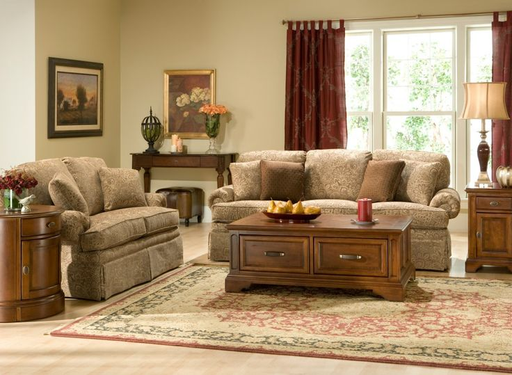 Raymour And Flanigan's Lauren Sofa Set By Clayton Marcus