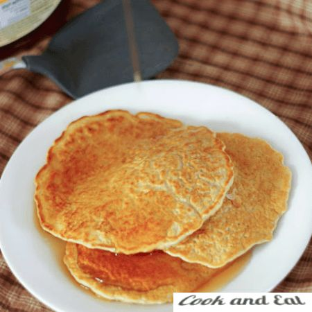 Рецепт Сладкие оладки из овсяных отрубей - Диетические блюда - Cook and Eat