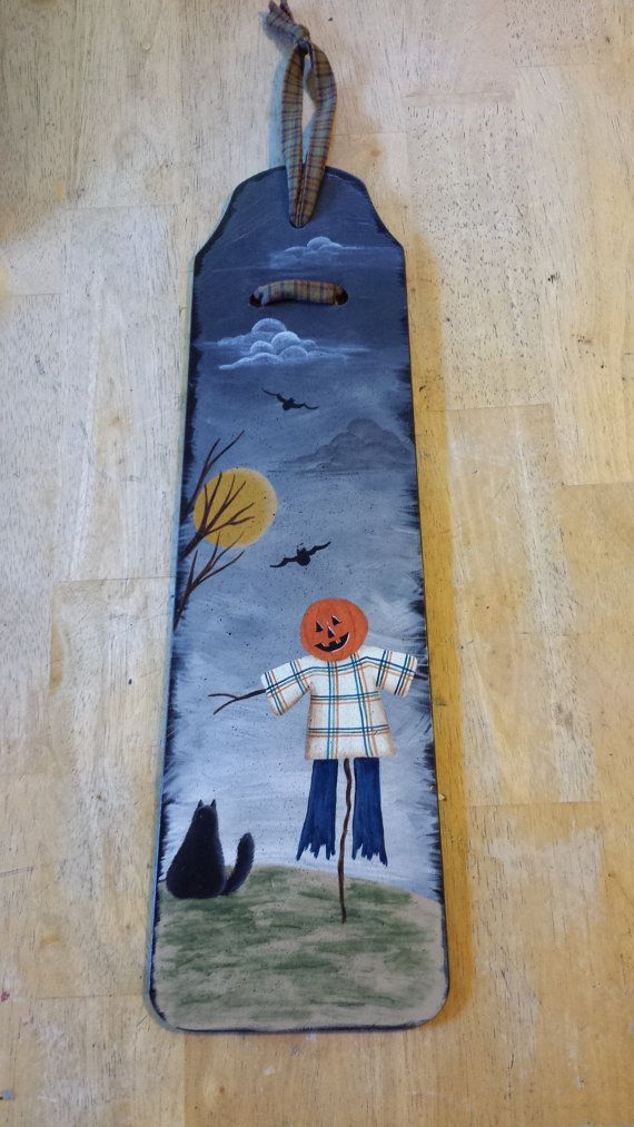 Handpainted Autumn Fan Blade