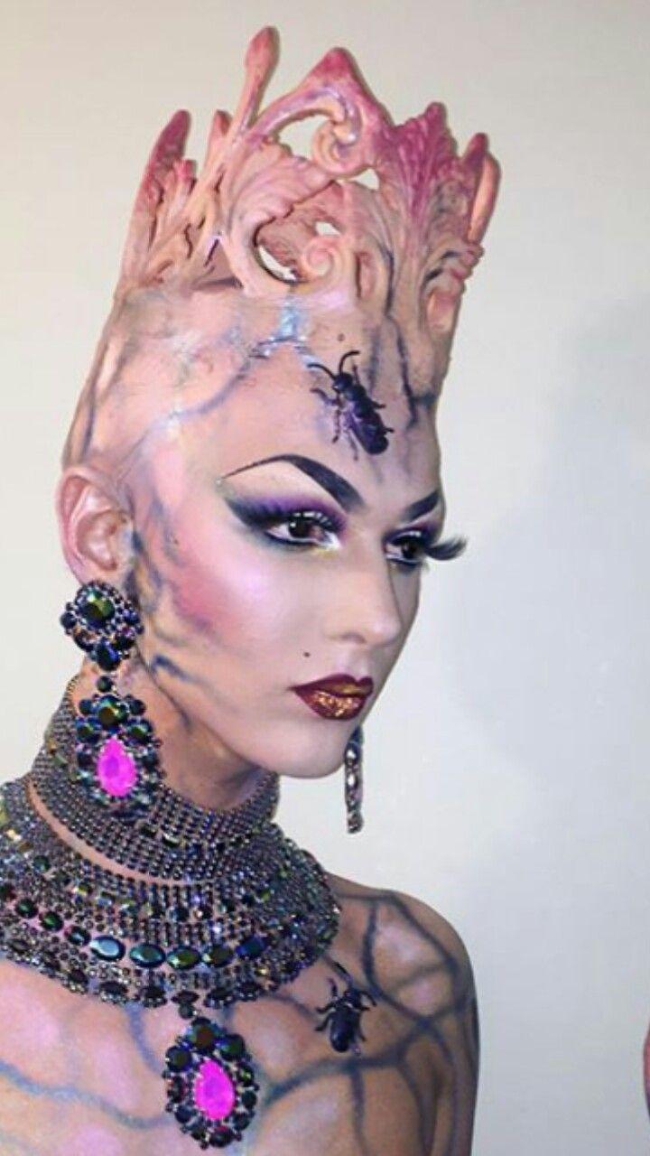 Violet Chachki season 8 finale makeup