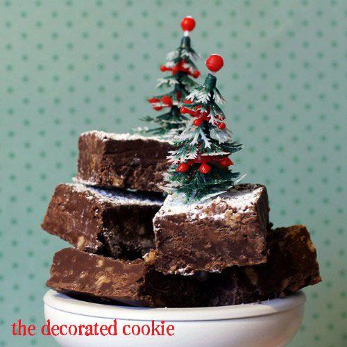 HERSHEY'S chocolate and toffee fudge  www.hersheyskitchens.com