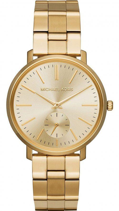 Ρολόι Michael Kors Jaryn με χρυσό μπρασελέ MK3500