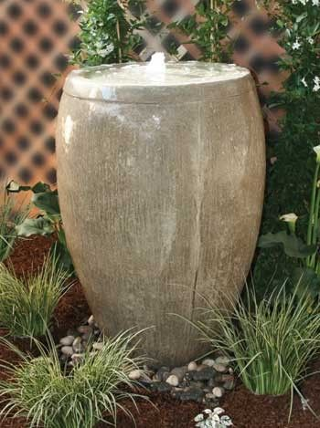 Add a soothing sound to your outdoor space with the Cardiff Fountain with 2' Reservoir today.