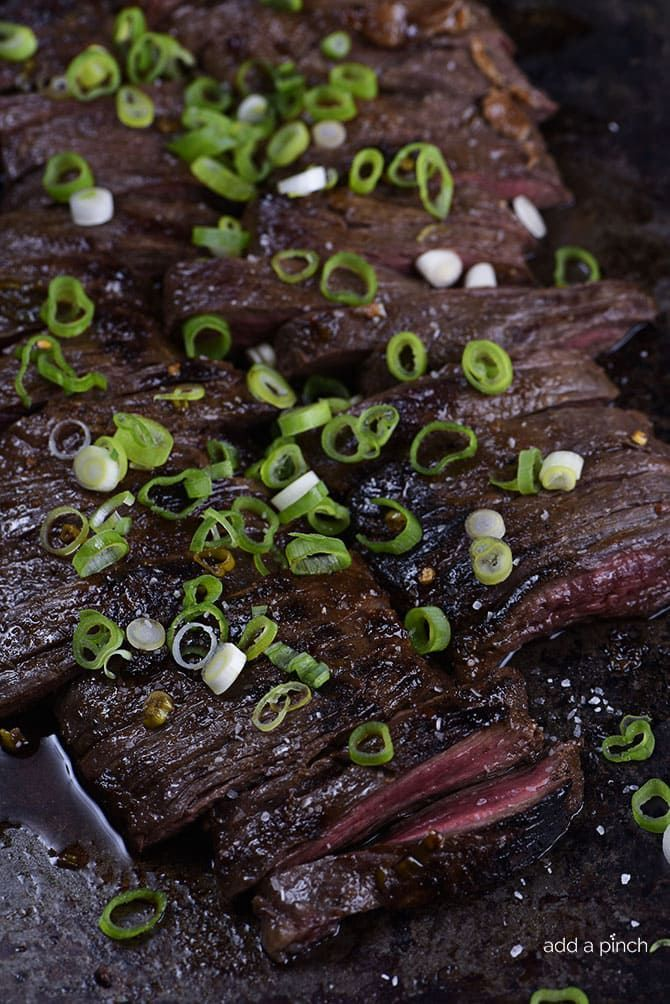 Honey Soy Skirt Steak Recipe – This honey, soy, garlic, and ginger marinade is delicious with ribeye, flank or skirt steak! Skirt steak cooks quickly, making it perfect for a weeknight, or weekend favorite! This post is sponsored by Morton Salt. Skirt steak makes a great cut of beef for quick and easy weeknight meals. Skirt steak...