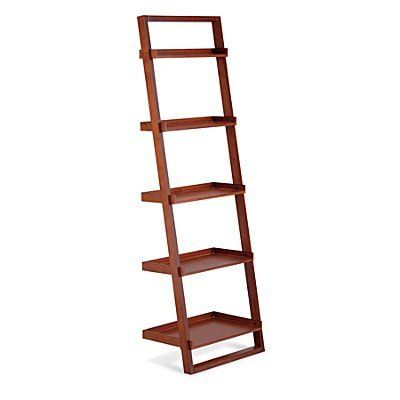 5-Tier Book Shelf - Black - Improvements by Improvements. $69.95. The Ladder Bookshelf with Desk can be used as a TV stand, laptop workstation, or bar. Raised edges on sides and back help keep items in place. The 5-Tier Bookshelf and Ladder Bookshelf with Desk can be used separately or together. The 5-Tier Bookshelf and Ladder Bookshelf with Desk can be used separately or together. Raised edges on sides and back help keep items in place. The Ladder Bookshelf with Desk ca...