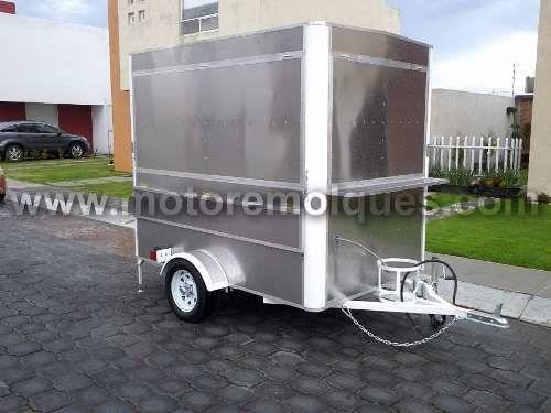 remolque food truck semi-nuevo