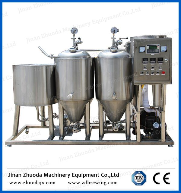 Source 50L 30L 100L 500L 1000L Mini Brewery Equipment Micro Brewery Fermenter Home Beer Brewery on m.alibaba.com