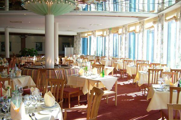 Restaurant im H+ Hotel Magdeburg