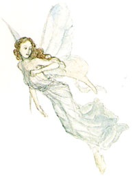 """Small Fairy"" by Alan Lee"